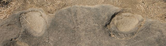 Elijah the Prophet horse's hoof marks in India